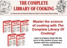5 Volume Cooking Library Ebooks + Bonus Software