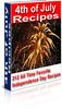 212 July 4th Recipes PLR Ebook + Bonus Software
