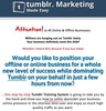 Tumblr Biz in a Box PLR + Bonus Software