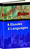 8 Language Phrase PLR App E-books + Website + Bonus