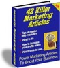 Thumbnail 42 PLR Marketing Articles PLR ebook + Website + Bonus