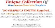 Thumbnail 20 MRR Video Squeeze Page Templates + Bonus