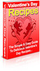 Thumbnail 100 PLR Valentines Day Recipes Ebook + Bonus