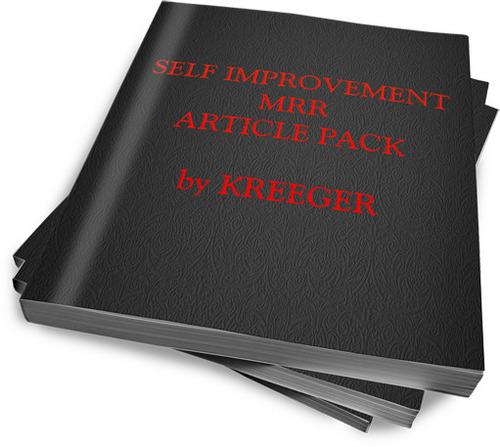 Product picture MRR 60 Self Improvement Articles + Bonus (Article Analyzer)