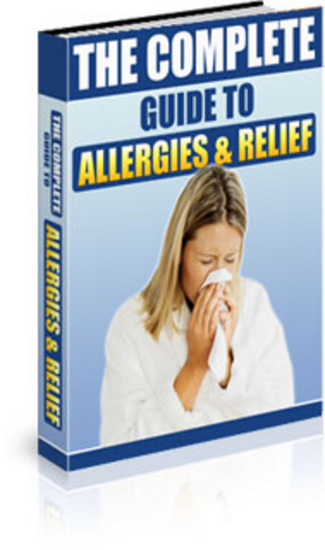 Product picture PLR The Complete Guide to Allergies&Relief+BonusWebsite