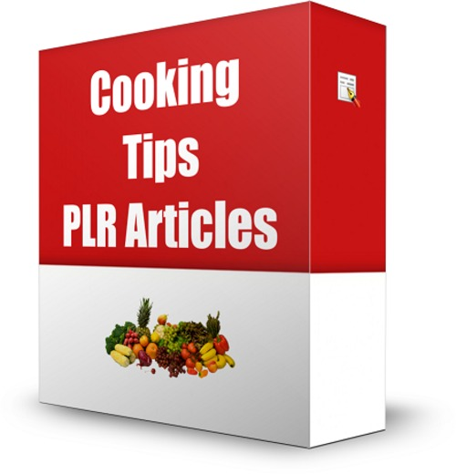 Product picture 40 CookingTips PLR Articles + Bonus Software