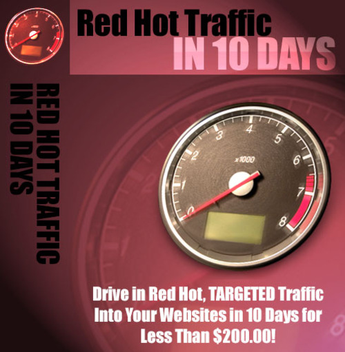 Product picture Red Hot Traffic PLR Biz in a Box + Bonus