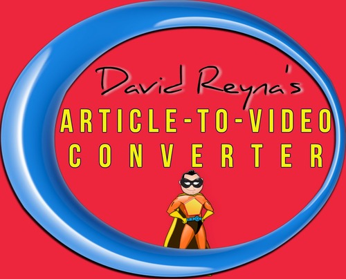 Product picture PLR Article To Video Converter +9k articles + Bonus Software