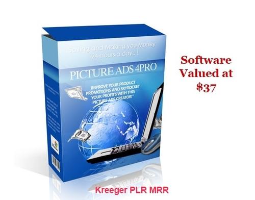 Product picture Picture Ads Pro 4 MRR + Bonus Software