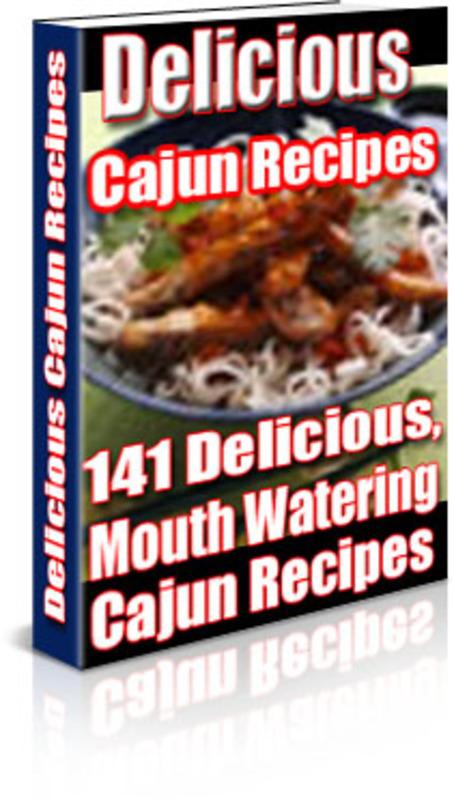 Product picture 141 Cajun Recipes E-Book PLR + Website + Bonus Software