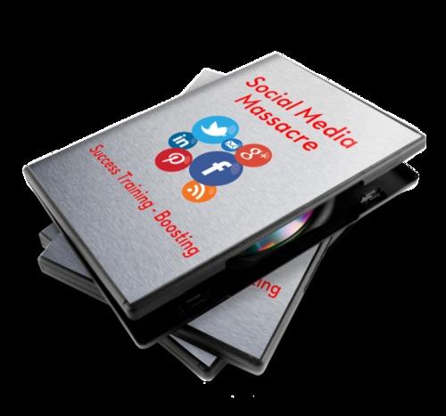 Product picture Social Media Massacre Training + Bonus Boosting Video
