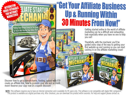 Product picture 8 Affiliate Startup MRR Videos + E-Book + Website + Bonus