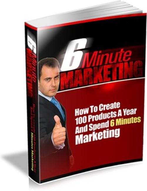 Product picture 6 Minute Marketing PLR E-book + Website + Bonus Software