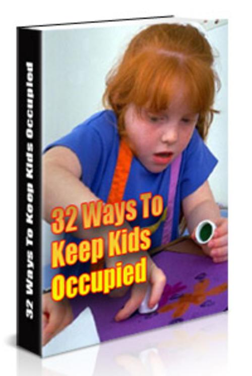 Product picture 32 Ways To Entertain Kids PLR ebook + Website + Bonus