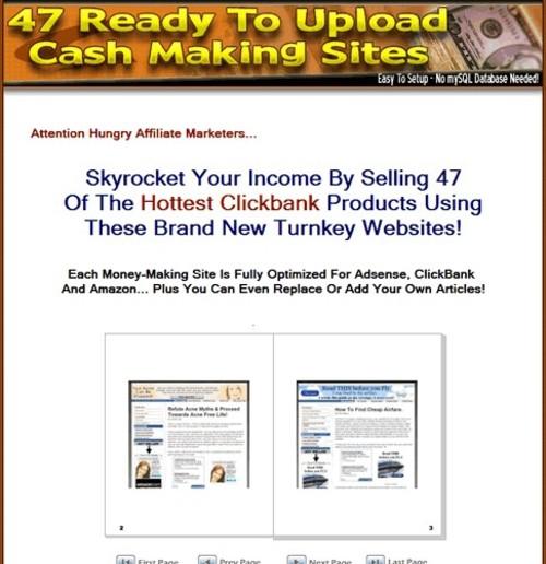 Product picture 47  Clickbank PLR Websites + Bonus