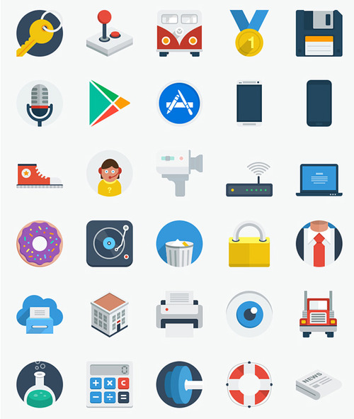 Product picture 100 MRR Icons + Bonus Software