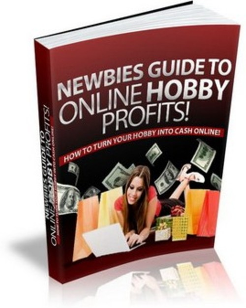 Product picture Online Hobby Profits PLR E-book + Website + Bonus Software