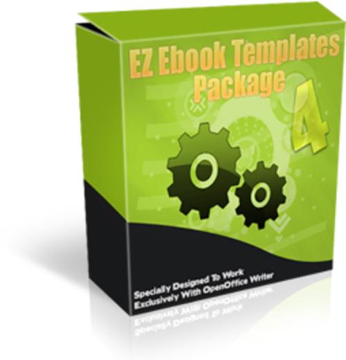 Product picture EZ Ebook Templates Pak MRR E-Book + Website + Bonus