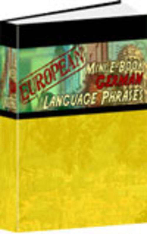 Product picture German Phrases MRR E-Book App + Website + Bonus