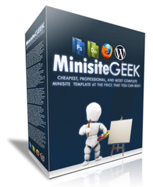 Product picture MiniSite Geek MRR + Bonus